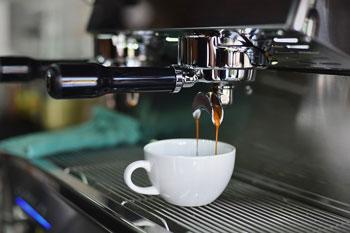 settore horeca: foto tazza caffè